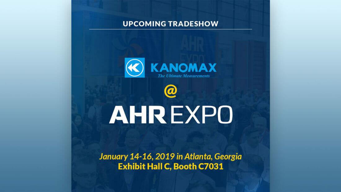 Kanomax AHR 2019 Blog Image