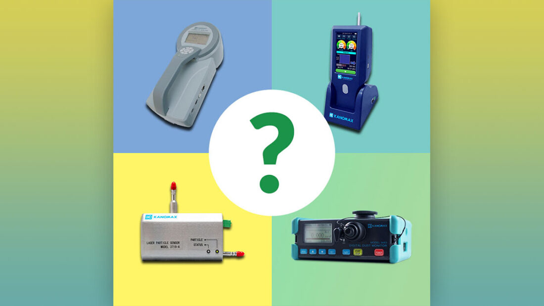 Kanomax Choosing the Right Particle Counter Blog Image