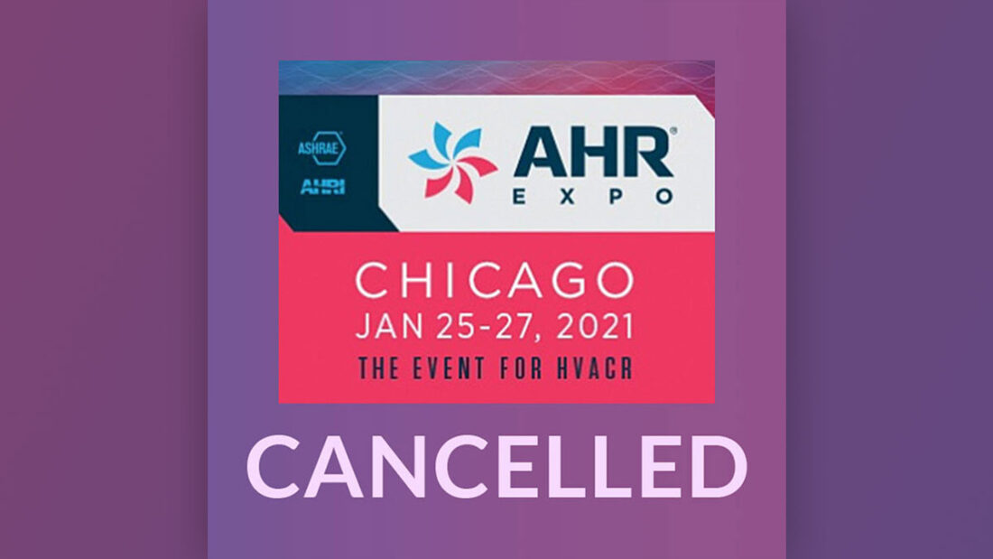 AHR 2021 Cancelled Blog Image
