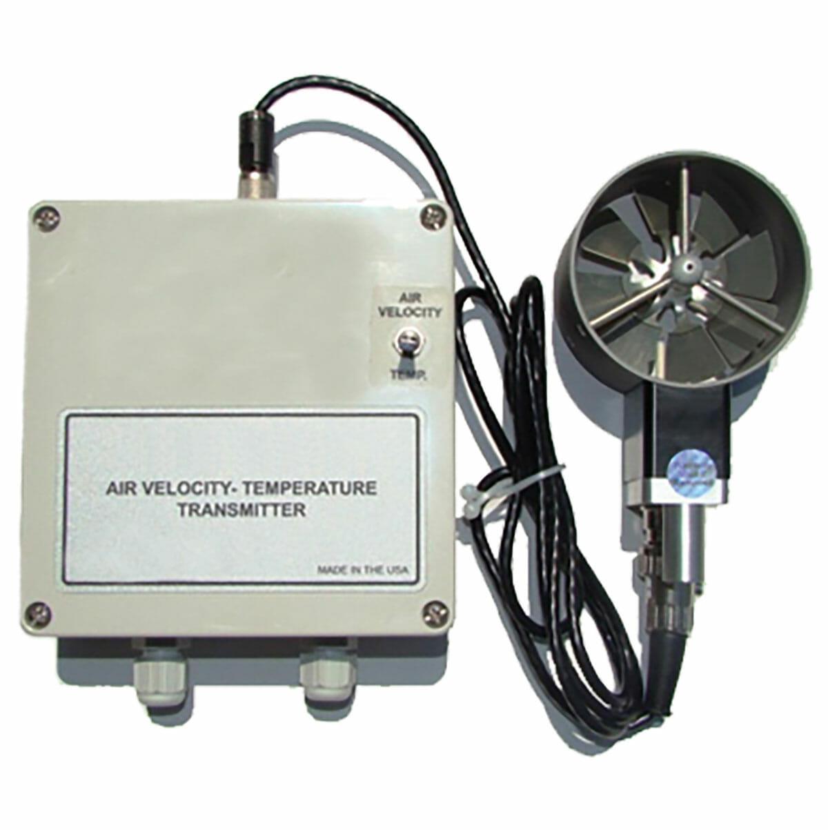 Vane Type Airflow Transmitter - Models AT400 and TAT420
