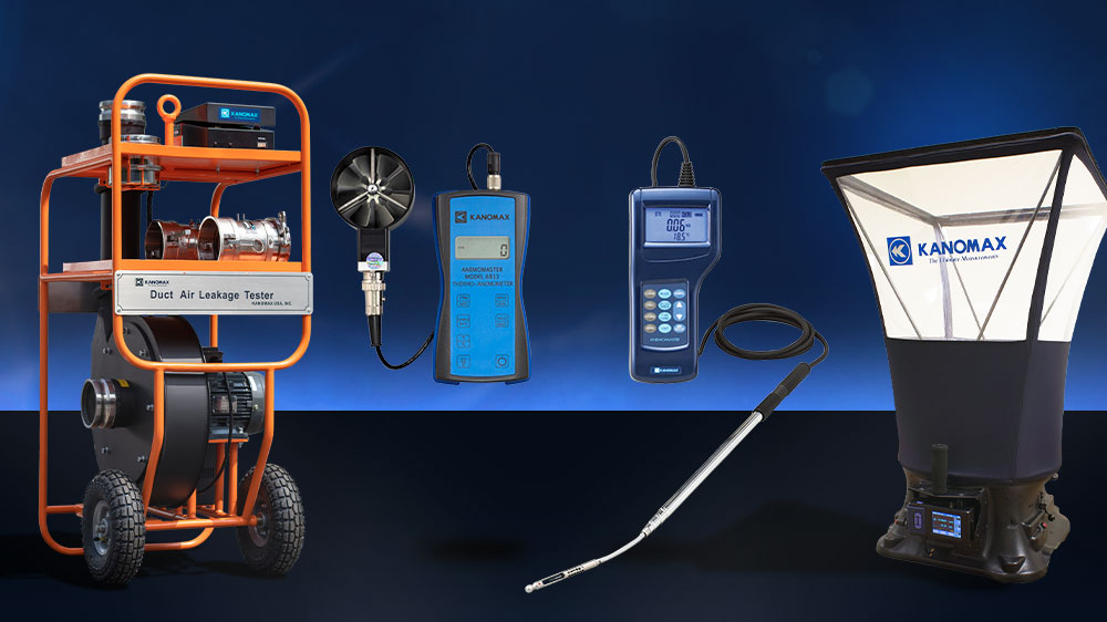 Kanomax HVAC Testing Instruments