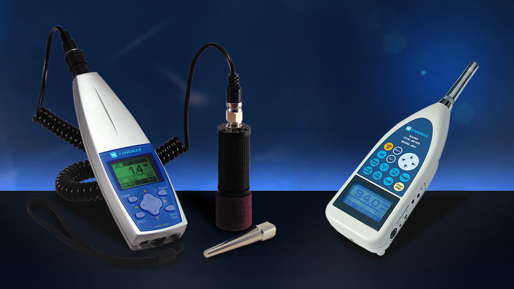 Kanomax Sound and Vibration Meters