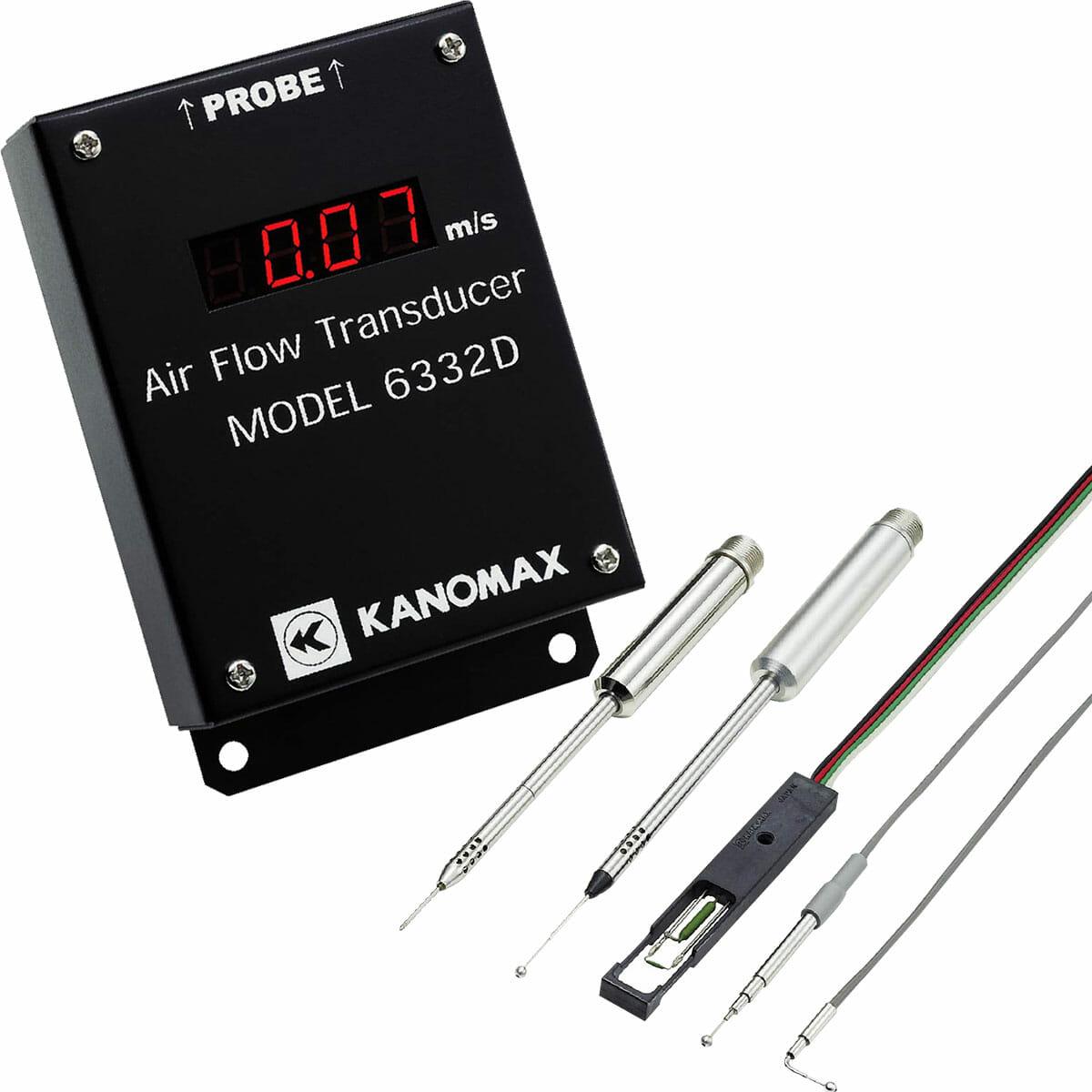 Kanomax Airflow Transducer - Models 6332/6332D