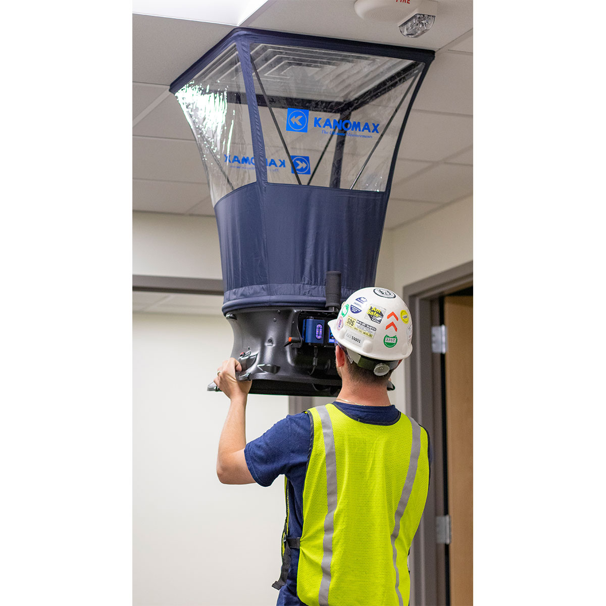 TABmaster Airflow Capture Hood - Model 6715 Used in Facility