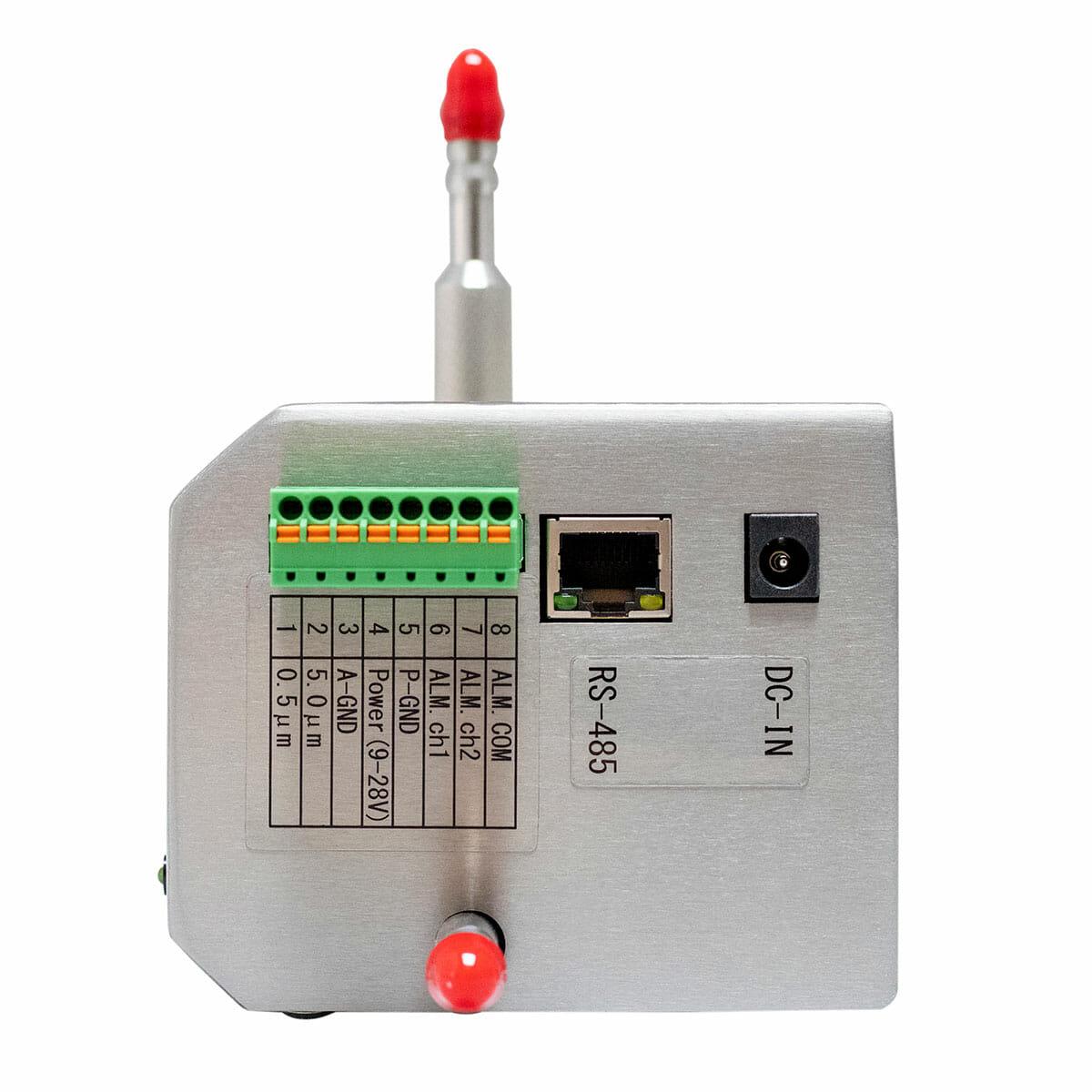 Kanomax Remote Particle Sensor - Model 3719-A - Side View